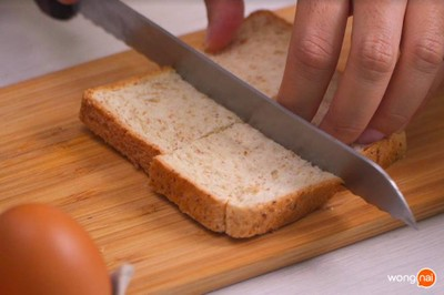 วิธีทำ ขนมปังหน้าหมูอบ