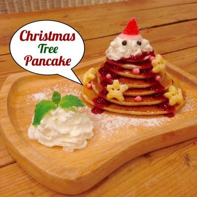 Christmas Tree Pancake