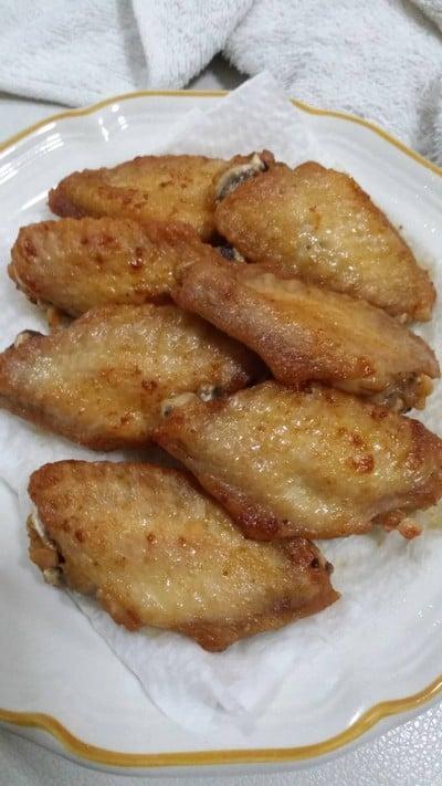 วิธีทำ ปีกไก่ทอดน้ำปลา