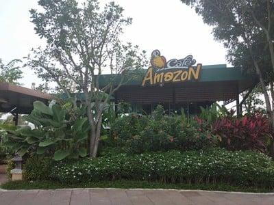 Cafe Amazon  ปตท.สันกำแพง