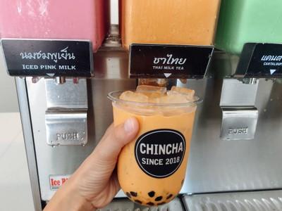 chincha ชานมไข่มุกตักเอง สุพรรณบุรี