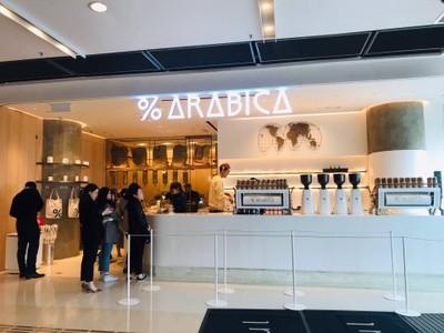 % Arabica IFC mall