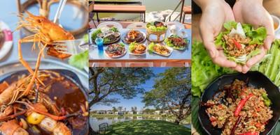 [รีวิว] I View Park  ร้านอาหารบรรยากาศดีอุดรธานี วิวริมน้ำ