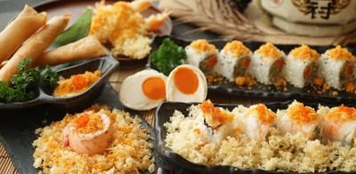 "SushiOO (ซูชิโอ) เมนูใหม่ ""ซูชิไข่เค็ม"" เจ้าแรกและเจ้าเดียวในไทย!"