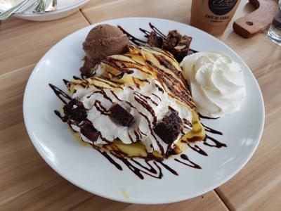 Brownie Crepe
