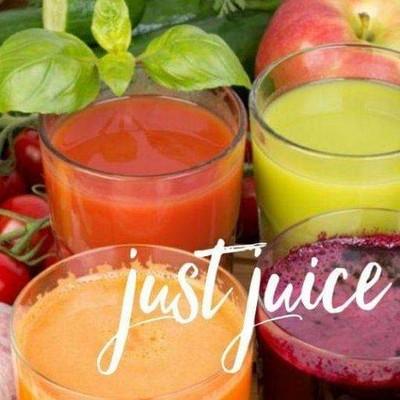 Just juiceน้ำผักผลไม้สกัด100% ตลาดนัดเศรษฐี