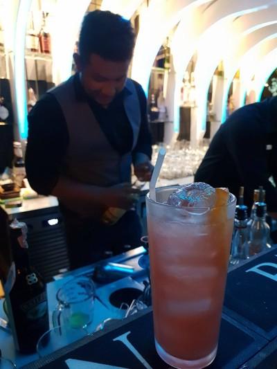 Mixberry • แก้วนี้ซอฟกว่าแก้วแรก หอมกลิ่นเบอรี่ รสชาติออกสตอเบอรี่ๆ ที่ ร้านอาหาร Happy trees Bistro&bar
