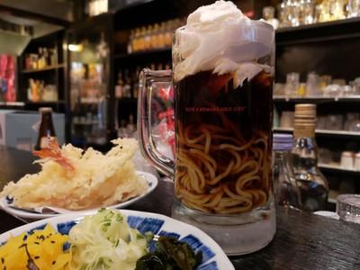 Beeru Ramen • เห้ย ตอนแรกคิดว่าทำมาขำขำ แต่เออ อร่อยวะ มันคือราเมงเย็น เส้นเหนียวนุ่ม และในซอส ที่ ร้านอาหาร AburiYatai