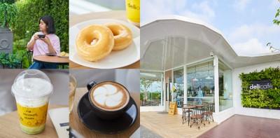 [รีวิว] Deli Café  เชลล์หนองรี คาเฟ่ชลบุรี ในปั๊มน้ำมัน ท่ามกลางสวนสวย