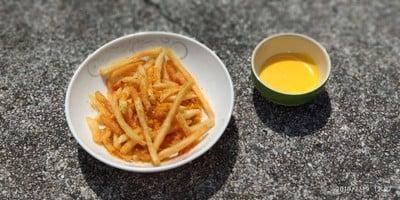 ฟรายส์ไข่เค็ม Homemade Fries Salted Egg