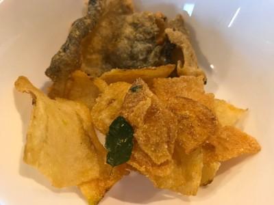 Salted Egg Fish Skin & Salted Egg Potato Chips