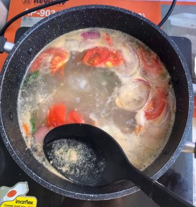 วิธีทำ ซุปไก่