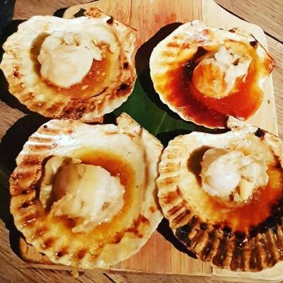 Grilled Hokkaido Scallop