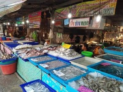 ตลาดอาหารทะเลแสมสาร