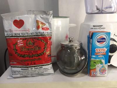 วิธีทำ ชานมเย็นสูตรหญ้าหวาน