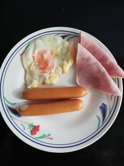 American Breakfast ง่ายๆ