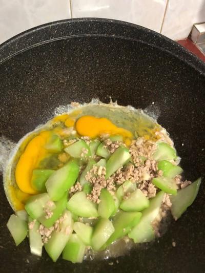 วิธีทำ ชาโยเต้ ชาโยเต้ๆผัดหมูใส่ไข่จร้า