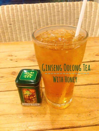 ชาอู่หลงโสมน้ำผึ้ง