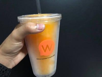 น้ำส้มปั่นรสส้มแมนดาริน