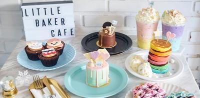 """[รีวิว] """"Little Baker Cafe"""" คาเฟ่สีพาสเทลกับเค้กสุดมุ้งมิ้ง"""