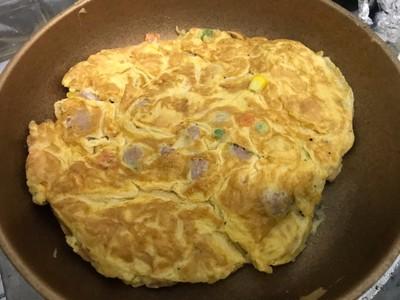วิธีทำ ไข่เจียวแหนม