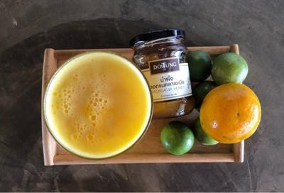 Honey Orange Lime Frappe