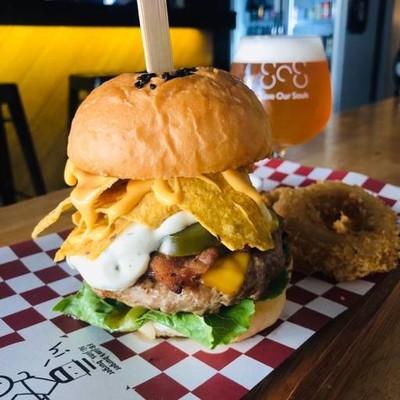 Jim's Burger / SOS (Save Our Souls X Jim's Burger) เจริญนคร