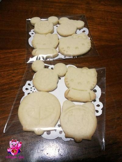 คุกกี้กด (Stamp Cookies)