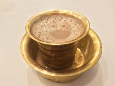Madras Coffee 30฿ กาแฟแบบอินเดียใต้ ต้องลองค่ะ