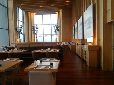 Inside at Skyline Restaurant Avani Riverside