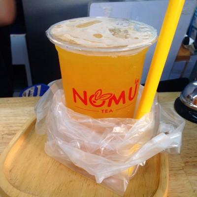 Nomu Tea Cafe'  อนุสารีย์ชัย เกาะดินแดง