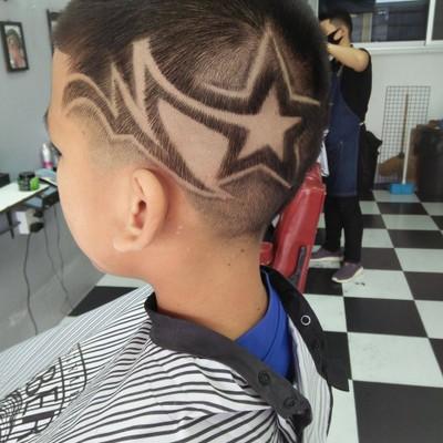 The Art Barber Shopตัดผมชาย&แกะลาย (ตัดผมชายแกะลายผม)