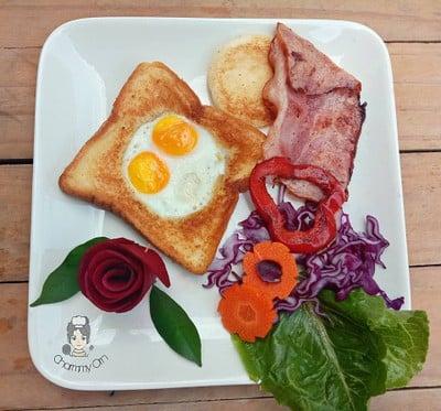 Breakfast อาหารเช้าแบบง่ายๆ