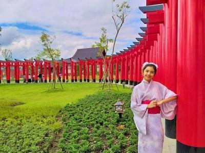 บ้านไม้หอมญี่ปุ่นฮิโนกิแลนด์ในดินแดนนพบุรีศรีนครพิงค์^^