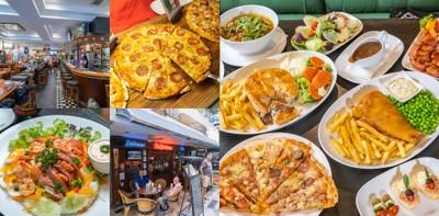[รีวิว] The Sportsman ร้านอาหารอิตาเลียนพัทยา พิซซ่าไม่อั้น 249 บ.