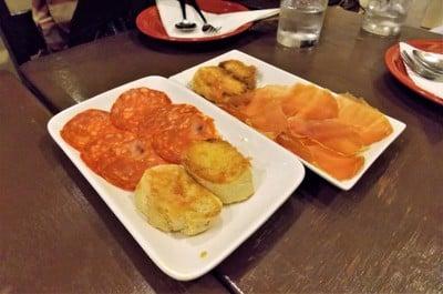 Chorizo Sausage & Serrano Ham
