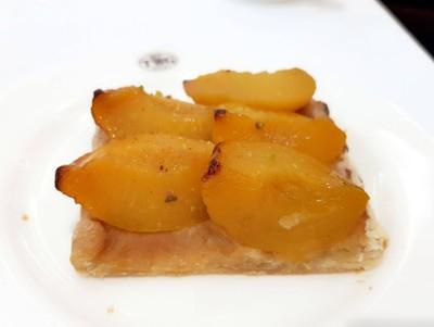 Peach Feuillete ที่ ร้านอาหาร TWG Tea  สยามพารากอน