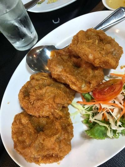 Shrimp cake at Krua Ruen Chao Phraya