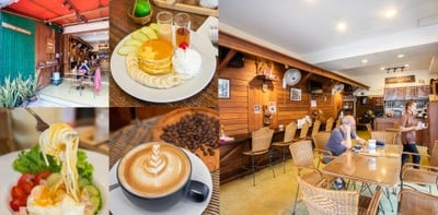 [รีวิว] บ้านไม้ชะอำ ร้านกาแฟชะอำ จิบกาแฟในบ้านไม้ริมหาด