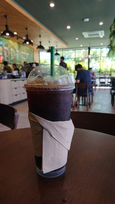 Cafe Amazon ตลาดศุภฤกษ์