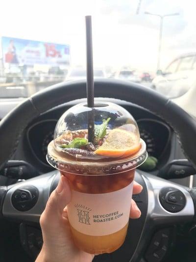 Yuzu Orange Tonic