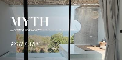 MYTH Koh Larn Resort Bar & Bistro ที่พักเกาะล้าน บรรยากาศเกาหลี!