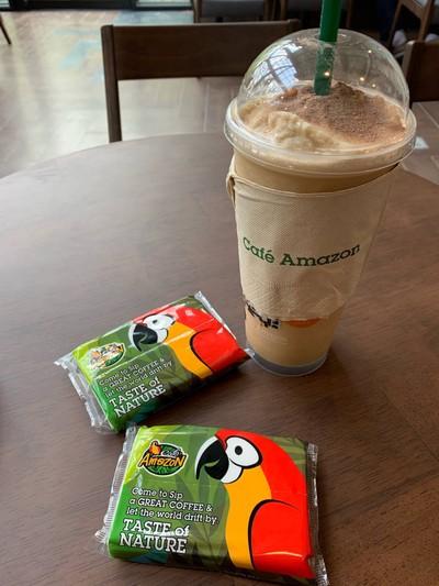 Café Amazon PTT ท่าจีนรุ่งเรืองปิโตรเลียม