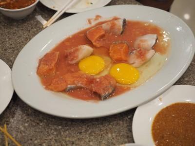ชุดปลาหิมะ+แซลมอน