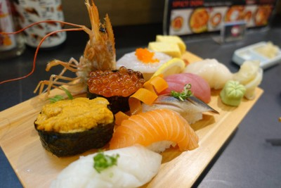 Sushi Ichiba MRT เพชรบุรี ทางออก 2