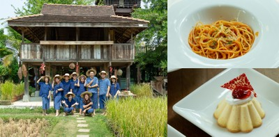 ทดลองดำนา จิบชาข้าว สัมผัสวิถีชีวิตแบบไทย ๆ @นาขวัญ คาเฟ่ เชียงใหม่
