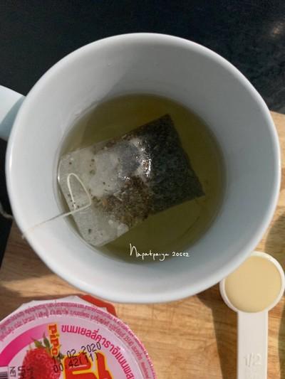 วิธีทำ ชานมวุ้นปีโป้