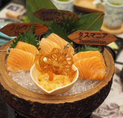 World Salmon Sushi Set