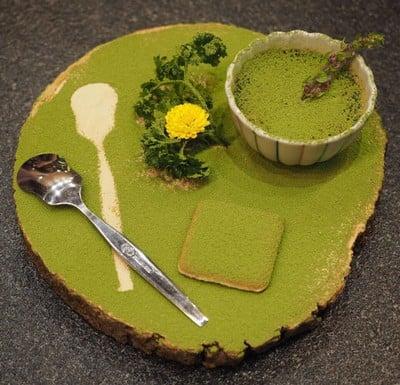 Hokkaido Matcha Custard
