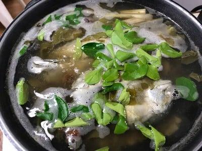 วิธีทำ ต้มแซ่บปลาทู